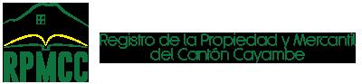 Registro de la Propiedad y Mercantil del Cantón Cayambe