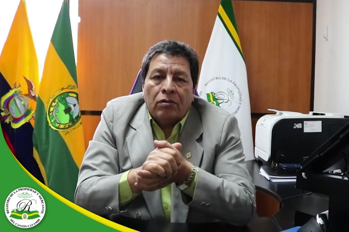 REGISTRO DE LA PROPIEDAD Y MERCANTIL DEL CANTÓN CAYAMBE – Consejos y recomendaciones para afrontar la cuarentena