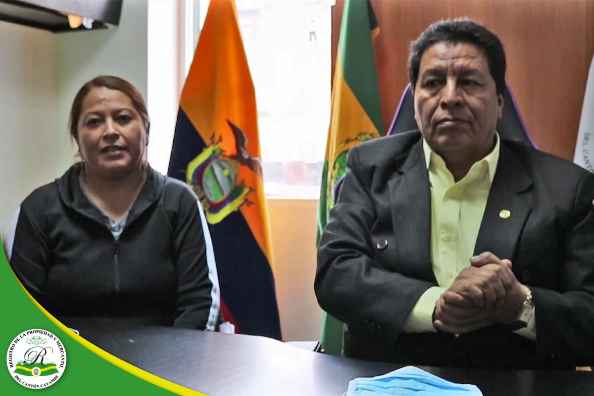 REGISTRO DE LA PROPIEDAD Y MERCANTIL DEL CANTÓN CAYAMBE – Ejercicios en casa