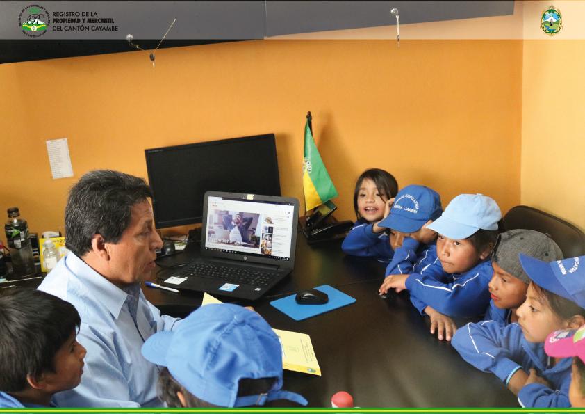 """ESTUDIANTES DE LA UNIDAD EDUCATIVA """"REBECA JARRIN"""" VISITARON LAS INSTALACIONES DEL """"RPMCC"""""""