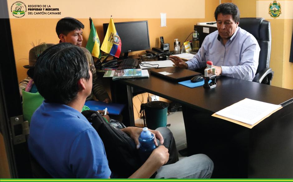 REUNION CON EL PRESIDENTE DE LA COMUNIAD DE COCHAPAMBA