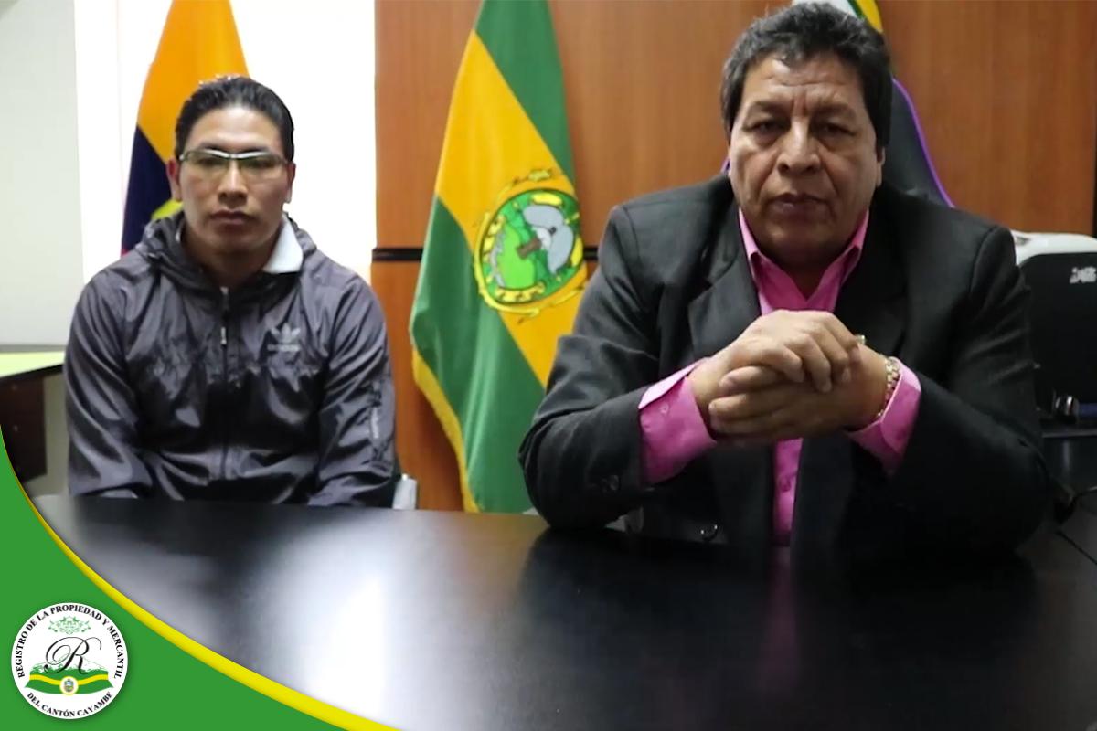 REGISTRO DE LA PROPIEDAD Y MERCANTIL DEL CANTÓN CAYAMBE – Manualidades para compartir en familia.