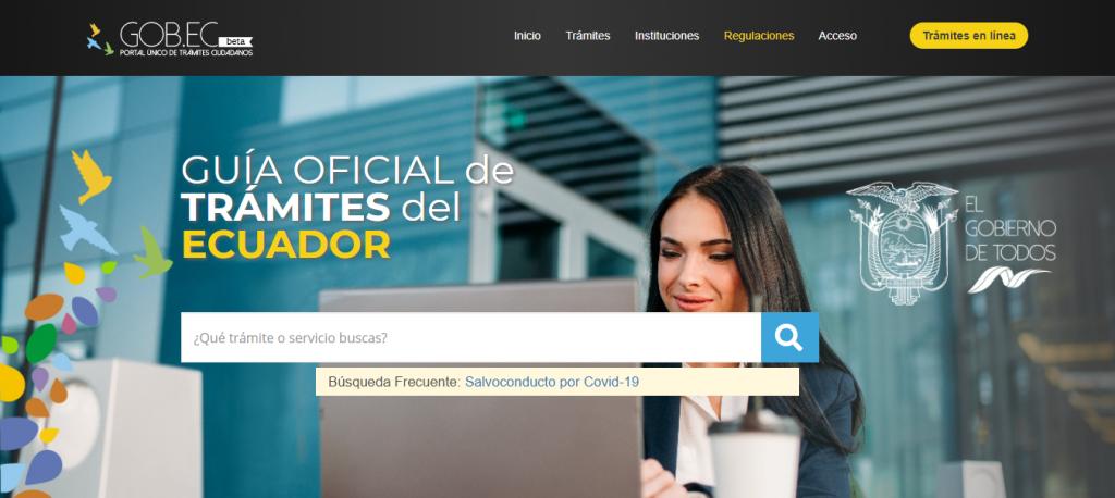 REGISTRO DE LA PROPIEDAD Y MERCANTIL DEL CANTÓN CAYAMBE – Trámites en línea GOB.EC